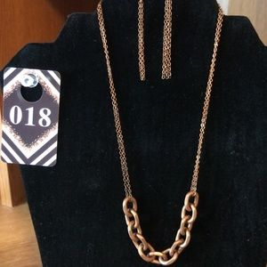 10 paparazzi necklace and earrings set
